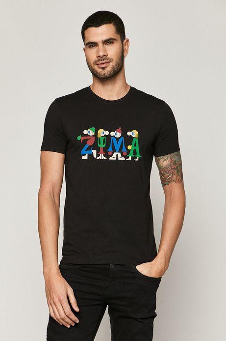 T-shirt męski z bawełny organicznej z kolekcji X-mass by Patryk Mogilnicki