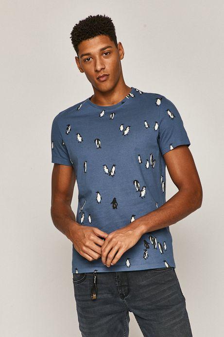 T-shirt męski Xmass (2-pack) niebieski