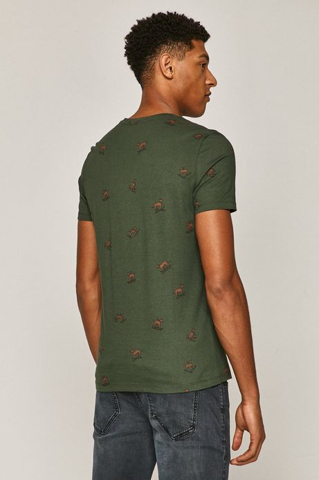 T-shirt męski Xmass (2-pack) zielony
