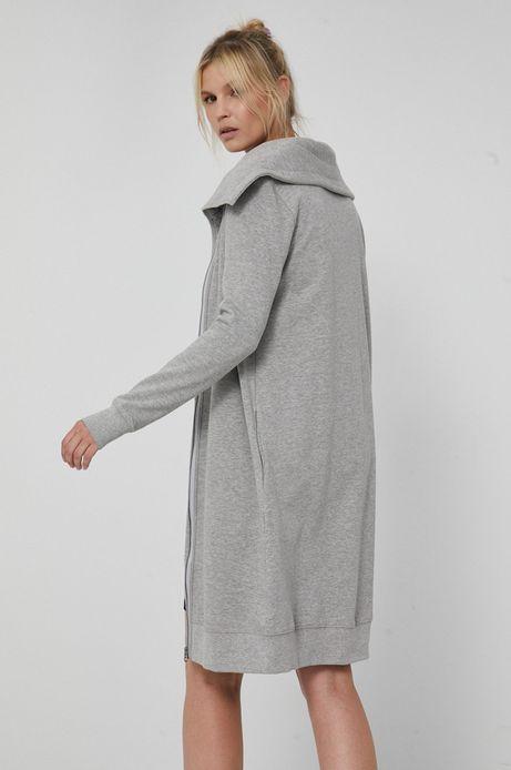 Bluza damska Basic szara