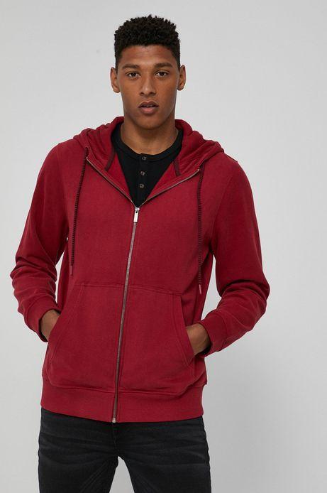 Bluza bawełniana męska czerwona