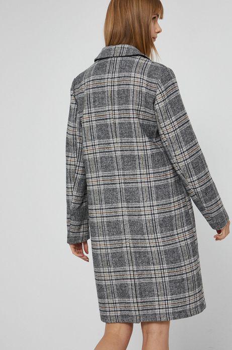 Płaszcz z wełną damski