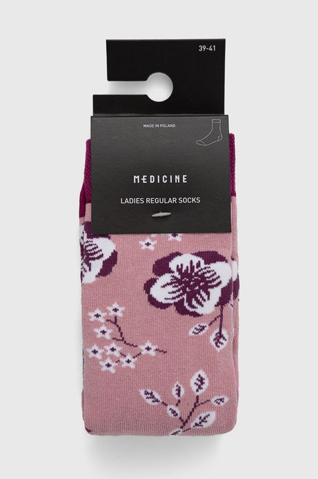 Skarpetki damskie w kwiaty (2-pack)