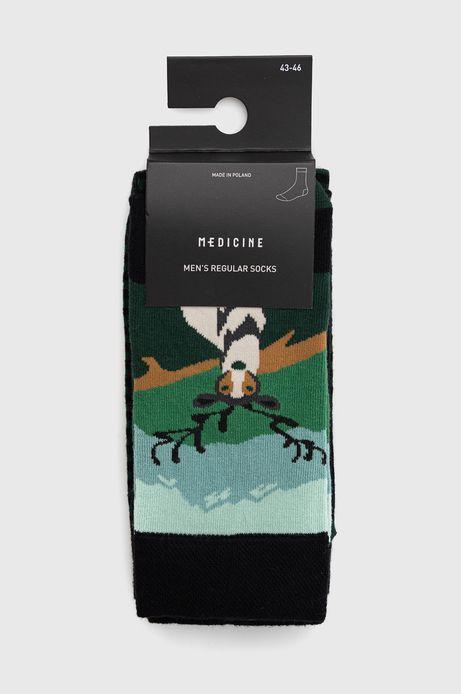 Skarpetki męskie z jeleniem (2-pack)