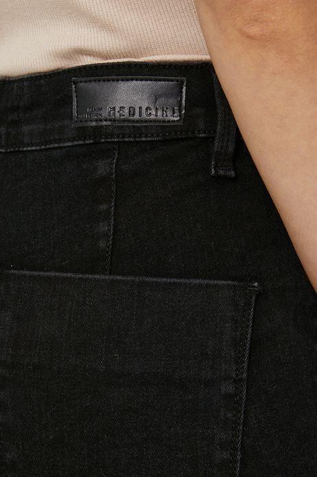 Jeansy damskie slim czarne