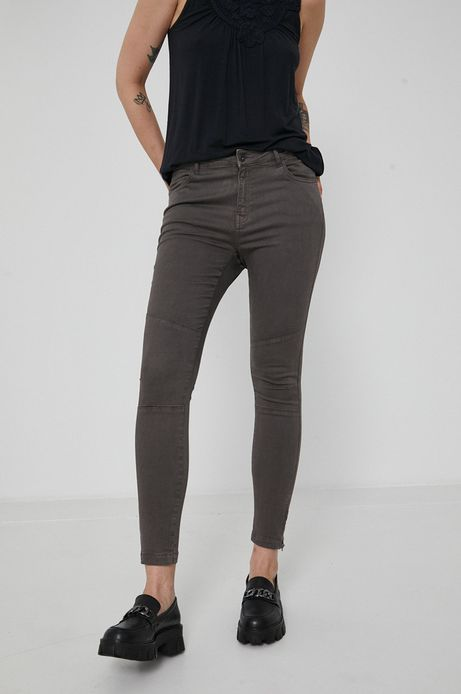 Spodnie damskie Essential szare