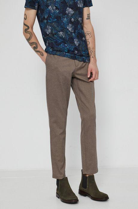 Spodnie męskie Tapestry brązowe