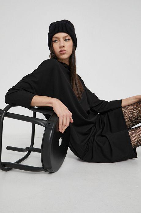 Sukienka gładka czarna