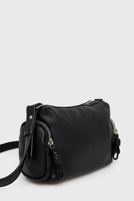 Średniej wielkości torebka damska czarna