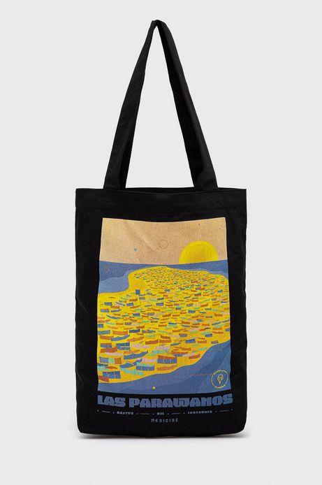 Bawełniana torba by Ewelina Gąska, Summer Posters czarna