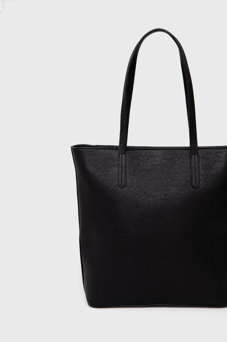 Torebka damska shopper czarna