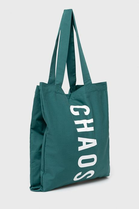 Bawełniana torba z nadrukiem zielona