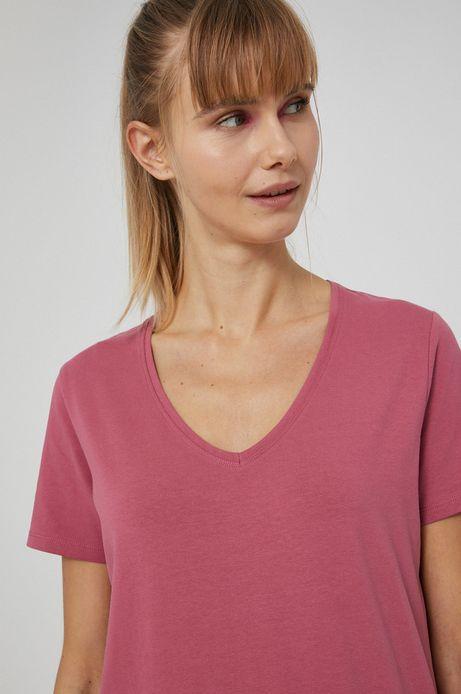 T-shirt damski różowy