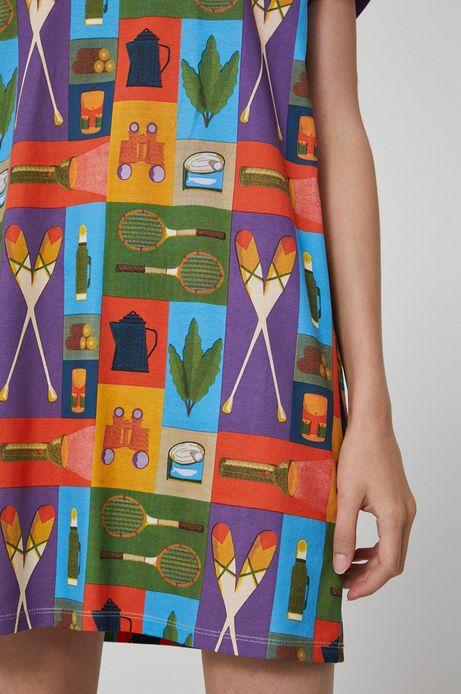 T-shirt bawełniany damski by Justyna Frąckiewicz, Summer Posters