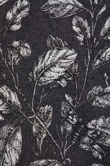 T-shirt bawełniany Graphic Bouquet szary