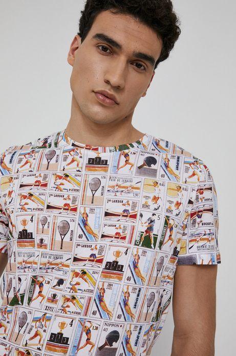 T-shirt bawełniany męski Olympic Games