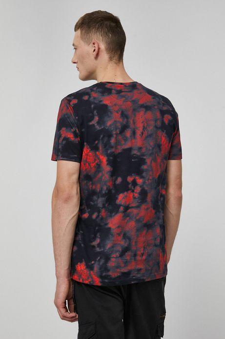 T-shirt bawełniany Barong Mask czerwony