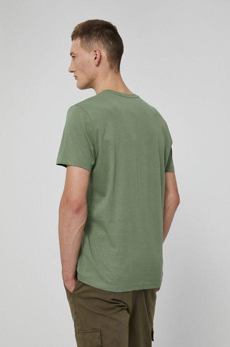 T-shirt bawełniany Barong Mask beżowy