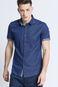 Man's Koszula Artisan niebieska