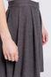 Woman's Spódnica Less Is More szara