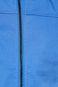 Kurtka męska z podwyższonym kołnierzem niebieska
