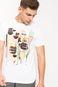 Man's T-shirt by Karol Banach biały