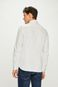 Koszula męska slim comfort w kropki biała