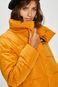 Kurtka damska żółta pikowana ocieplana
