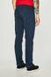 Spodnie męskie regular gładkie niebieskie