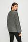 Sweter damski szary z ozdobnymi detalami