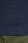 Sweter męski z półgolfem granatowy