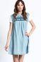 Sukienka Artisan niebieska