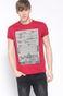 T-shirt Decadent czerwony