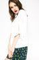Bluzka Linen Line biała