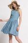Sukienka Tea Party niebieska