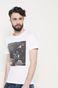 T-shirt Space Odyssey biały