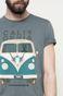 T-shirt Vintage Vehicles zielony