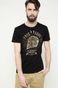 T-shirt Aztec Roots czarny