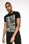 T-shirt Creative Soul czarny