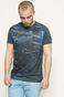 T-shirt Rafał Wechterowicz for Medicine granatowy