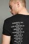 T-shirt Music Wall szary