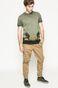 Spodnie męskie Basic złoty brąz