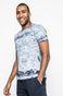 T-shirt męski City Rhythmes niebieski