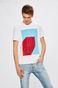 T-shirt by Justyna Frąckiewicz, Grafika Polska biały