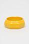 Bransoletka damska geometryczna żółta