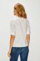 Koszula damska z gładkiej tkaniny biała