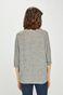 Bluza damska z wiązaniem na rękawach szara