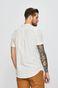 Koszula męska lniana ze stójką biała