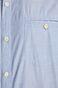 Koszula męska z gładkiej tkaniny niebieska
