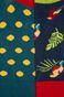 Skarpetki damskie w papugi (2-pack)